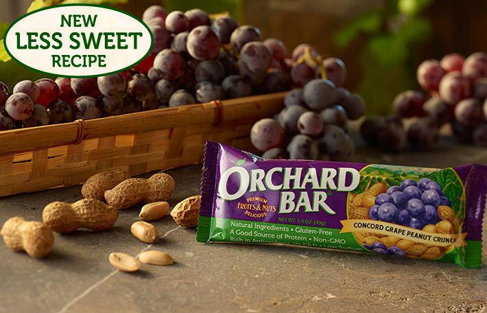 Concord Grape Peanut Crunch