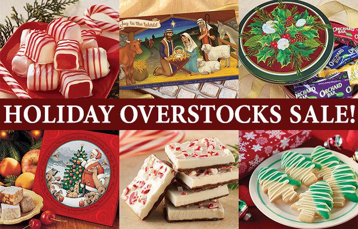 Holiday Overstocks 40%-50% Off!