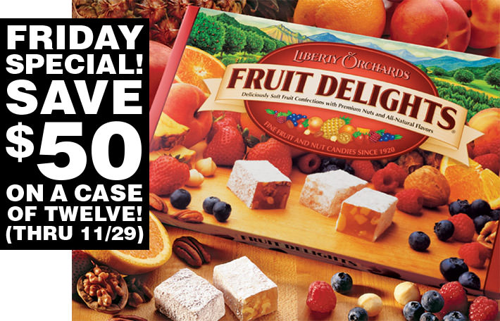 Fruit Delights 12-Count Case Special!