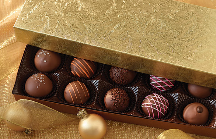 50% OFF Chocolate Truffles!