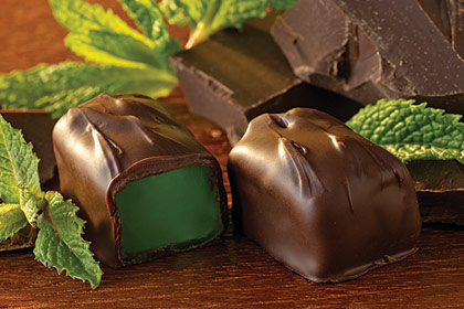 Dark Mint Chocolates, $10.95 to $19.95