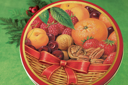 Basket of Delights Gift Tin, $22.95