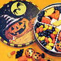 Halloween Candies Tin, Sale! $16.95