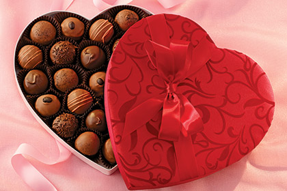 Liberty Orchards Truffles Heart $16.95 to $25.95