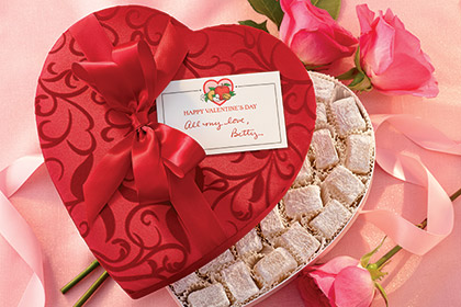 Liberty Orchards Valentine Heart $16.95 to $34.95