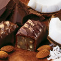 Dark Coconut-Almond Chocolates, $10.95 to $19.95