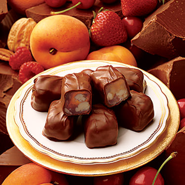 Classic Fruit Chocolates Gift Box