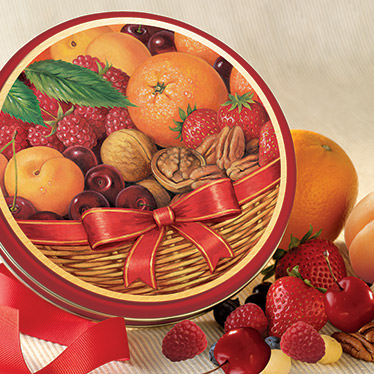 Basket of Delights Gift Tin