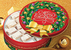 Merry Christmas Gift Tin