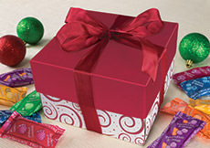 Wrapped Minis Holiday Gift Box
