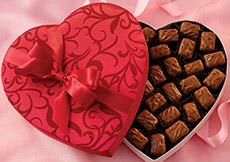 Fruit Chocolates Valentine Hearts
