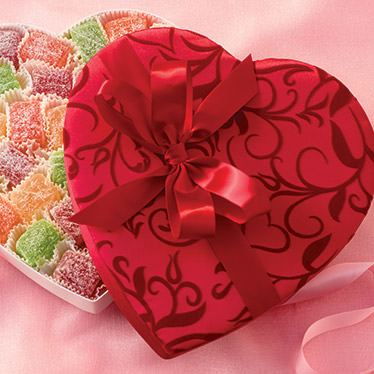 Fruit Sparklers Heart