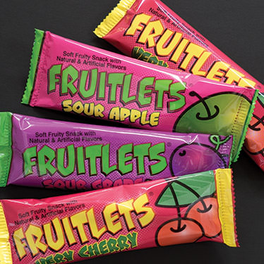 Halloween Fruitlets Candy Bars