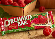 Strawberry-Raspberry Walnut Orchard Bar