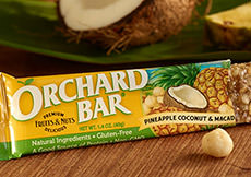 Pineapple-Coconut Macadamia Orchard Bar