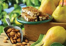 Pear Almond Crunch Orchard Bar