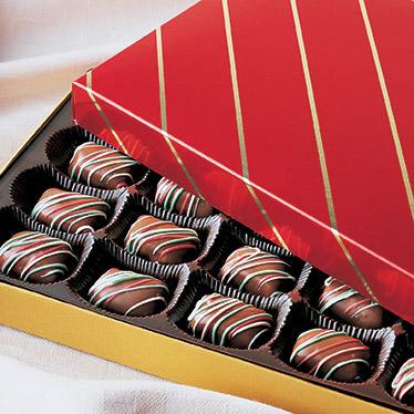 Holiday Fruit Chocolates
