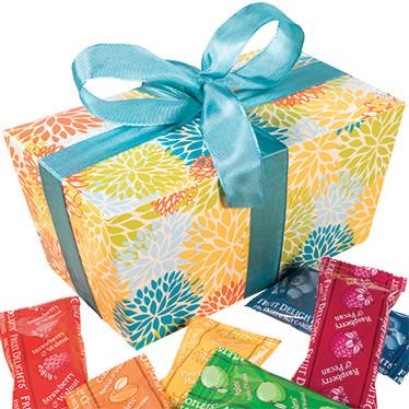 Fruit and Nut Minis Ballotin Gift Box