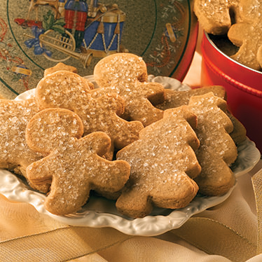 Gingerbread Cookies Gift Tin
