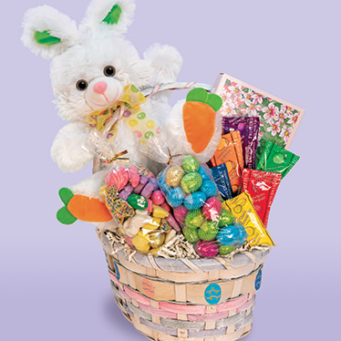 Sunny Bunny Easter Treasures Basket