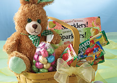 Honey Bunny Easter Treasures Basket