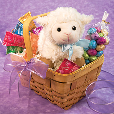 NEW! Lovable Lamb Basket