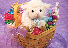 NEW! Lovable Lamb Basket