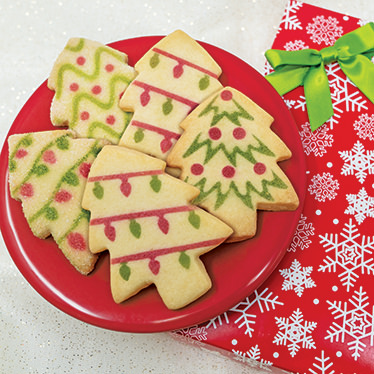 Christmas Tree Shortbread Tin