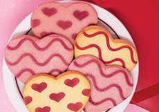 Cookie Hearts Gift Box