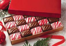 Holiday Checkerboard Cremes,